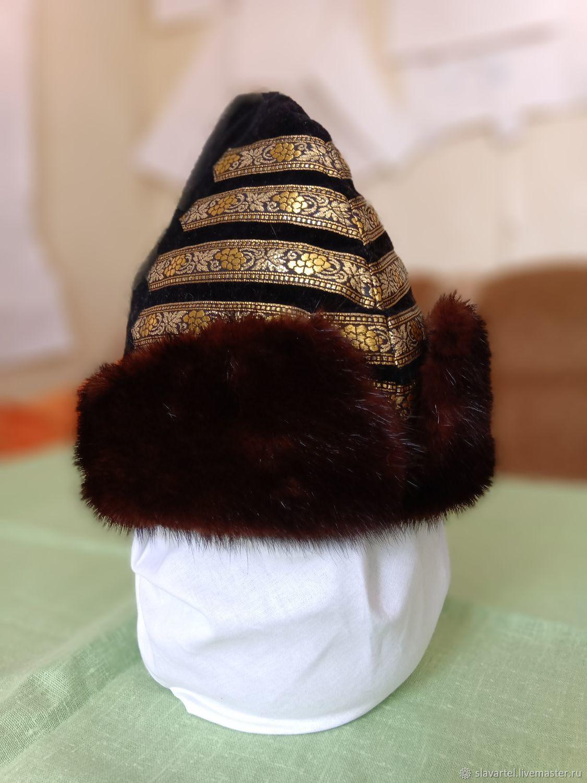 Folk costumes: Russian children's fur hat, Costumes3, Lermontov,  Фото №1