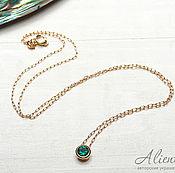 Украшения handmade. Livemaster - original item Thin necklace