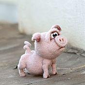 Куклы и игрушки handmade. Livemaster - original item Pig Yasha. Handmade.