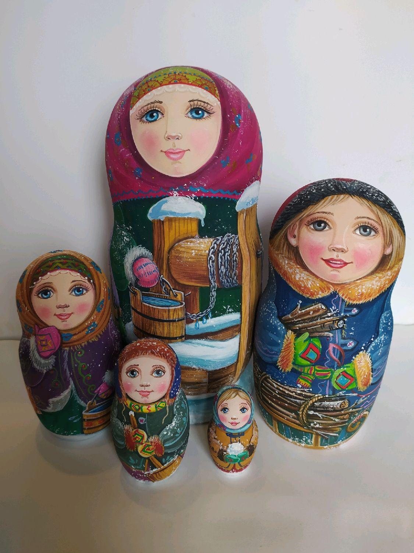 У колодца, Матрешки, Витебск,  Фото №1