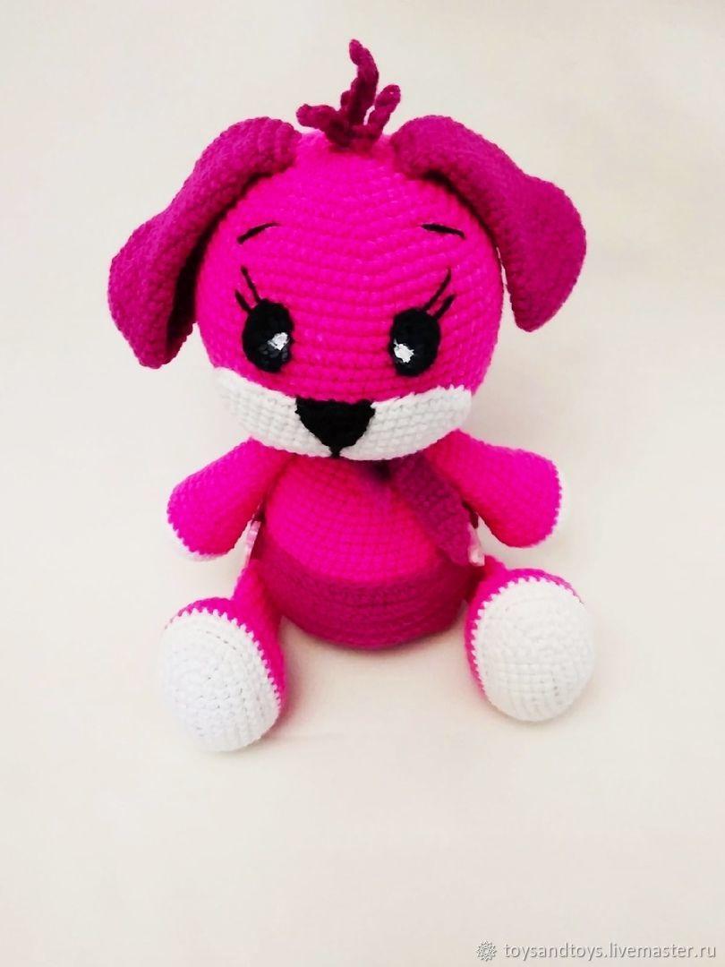A raspberry puppy in a diaper, Stuffed Toys, Gukovo,  Фото №1