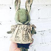 Куклы и игрушки ручной работы. Ярмарка Мастеров - ручная работа Заяц - тедди. Handmade.