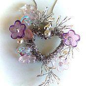 Украшения handmade. Livemaster - original item Pendant-heart. Handmade.