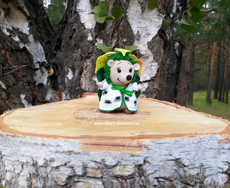 """Берёза! Коллекция """"Цветочные Ёжики!"""", Мягкие игрушки, Новосибирск,  Фото №1"""