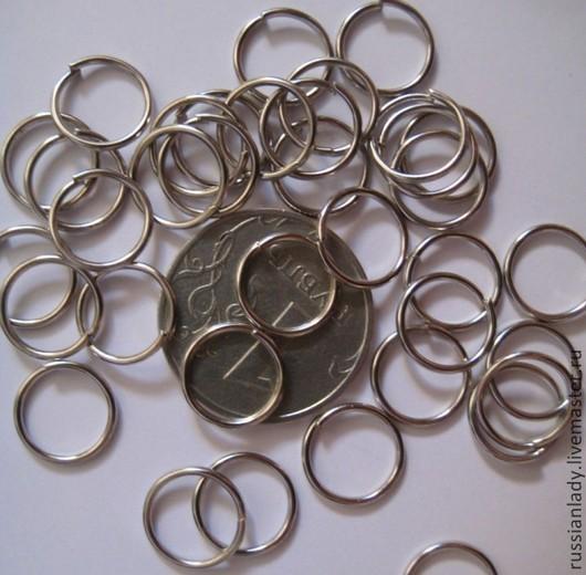 Для украшений ручной работы. Ярмарка Мастеров - ручная работа. Купить 50шт 8,5 мм Кольцо соединительное. Handmade.