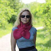 Аксессуары handmade. Livemaster - original item Wool scarf bright