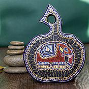 Для дома и интерьера ручной работы. Ярмарка Мастеров - ручная работа Декоративная доска с индийским слоником. Handmade.
