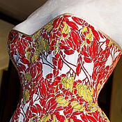 """Одежда ручной работы. Ярмарка Мастеров - ручная работа Корсет """"Secret garden"""". Handmade."""