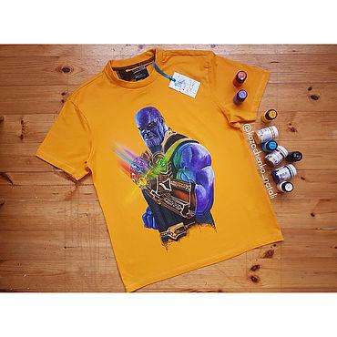 Clothing handmade. Livemaster - original item Hand painted Thanos. Handmade.