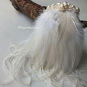 Свадебный салон ручной работы. Ярмарка Мастеров - ручная работа Антуанетта. Украшение в причёску. Handmade.