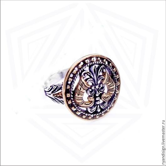 Кольцо Рога изоилия, мужское женское подарок мужчине женщине