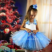 Работы для детей, handmade. Livemaster - original item Elegant set for girls Elsa. Handmade.