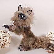 Мягкие игрушки ручной работы. Ярмарка Мастеров - ручная работа ИЩЕТ ДОМ! Нган ронг кот Невоэйро, дракон. Handmade.
