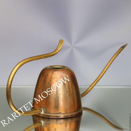Винтажные предметы интерьера. Ярмарка Мастеров - ручная работа. Купить Лейка латунь медь Германия 21. Handmade. Комбинированный, германия