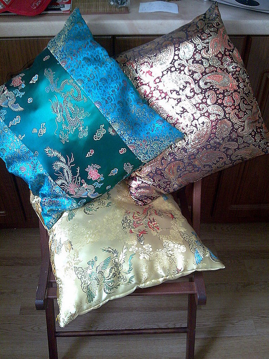 Текстиль, ковры ручной работы. Ярмарка Мастеров - ручная работа. Купить Декоративные подушки. Handmade. Пошив на заказ, Подушки
