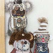Куклы и игрушки ручной работы. Ярмарка Мастеров - ручная работа зима уже близко;). Handmade.