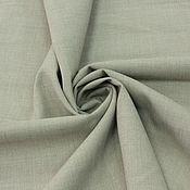Материалы для творчества ручной работы. Ярмарка Мастеров - ручная работа 109101 легкая итальянская костюмная ткань. Handmade.