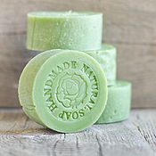 Косметика ручной работы handmade. Livemaster - original item Natural soap Green Tea. Handmade.