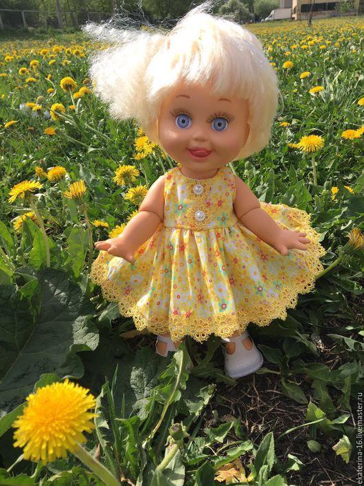 Одежда для кукол ручной работы. Ярмарка Мастеров - ручная работа. Купить платья для фейсиков  Baby Face. Handmade. Комбинированный, украшения