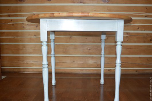 """Мебель ручной работы. Ярмарка Мастеров - ручная работа. Купить Стол """"Лоран"""". Handmade. Белый, стол деревянный, состаренный"""