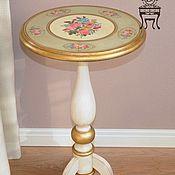 """Столы ручной работы. Ярмарка Мастеров - ручная работа Чайный столик """"Воспоминание о лете"""". Handmade."""