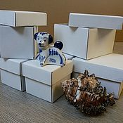 Сувениры и подарки handmade. Livemaster - original item Box made of micro8h8h5 cm. Handmade.