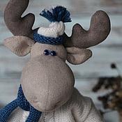 Куклы и игрушки ручной работы. Ярмарка Мастеров - ручная работа Рома. Синеглазый Лось. Handmade.