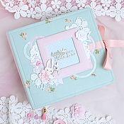 """Подарки к праздникам ручной работы. Ярмарка Мастеров - ручная работа Альбом для девочки """"Little Bunny"""". Handmade."""