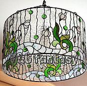 """Для дома и интерьера handmade. Livemaster - original item Люстра """"Подснежники"""". Handmade."""