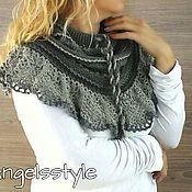 Аксессуары handmade. Livemaster - original item knitted wool Snood.. Handmade.
