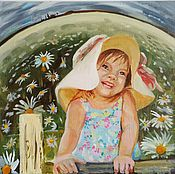 Картины и панно ручной работы. Ярмарка Мастеров - ручная работа Счастливое детство. Handmade.