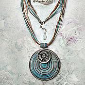 Украшения handmade. Livemaster - original item Large pendants