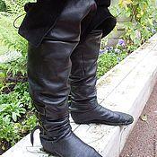 Обувь ручной работы. Ярмарка Мастеров - ручная работа Сапоги, ботфорты. Handmade.