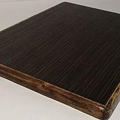 Для дома и интерьера handmade. Livemaster - original item Ceramic thermal stand on wooden platform PCT-M0000004. Handmade.