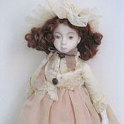 Куклы и игрушки ручной работы. Ярмарка Мастеров - ручная работа Кукла авторская в винтажном стиле Софья, 28 см. Handmade.