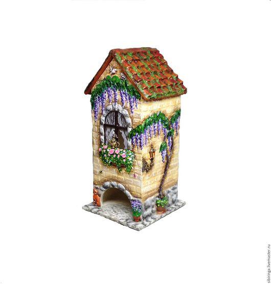 Чайный домик с кошкой чайный домик кирпичный, чайный домик  сиреневый, чайный домик желтый, чайный домик в подарок, чайный домик  с розами. чайный домик  зеленый чайный домик лаванда