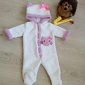 Одежда детская handmade. Livemaster - original item Overalls for children: Romper baby. Knitted Romper.. Handmade.