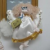 Картины и панно ручной работы. Ярмарка Мастеров - ручная работа Панно Ангел в облаках. Handmade.