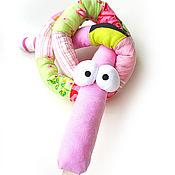 Куклы и игрушки ручной работы. Ярмарка Мастеров - ручная работа Текстильные игрушки Веселые Змейки. Handmade.