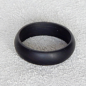 Украшения handmade. Livemaster - original item Ring made of ebony ( on order ). Handmade.
