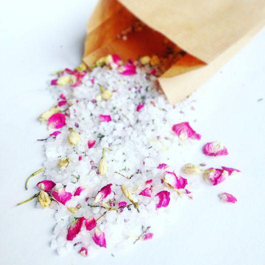 """Соль для ванны ручной работы. Ярмарка Мастеров - ручная работа. Купить """"Легенды Вероны"""" соль с вереском, жасмином и розой. Handmade."""