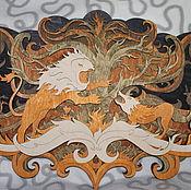 Картины и панно ручной работы. Ярмарка Мастеров - ручная работа Настенное панно Игра престолов. Handmade.