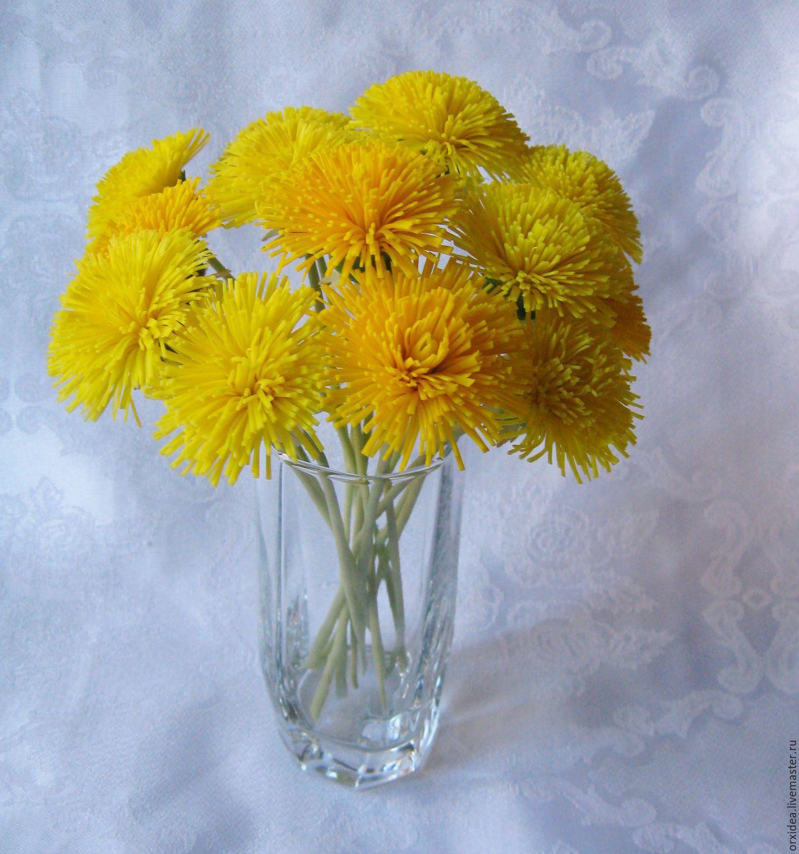Цветы одуванчик купить доставка цветов тячев