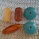 Для украшений ручной работы. Ярмарка Мастеров - ручная работа. Купить Акрил, бусины различной формы. Handmade. Керамическая бусина