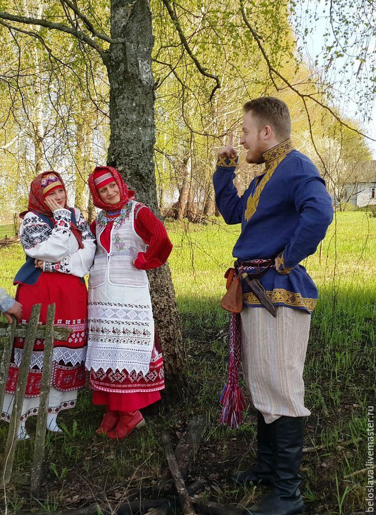 Tank top Belarusian, Costumes3, Bryansk,  Фото №1