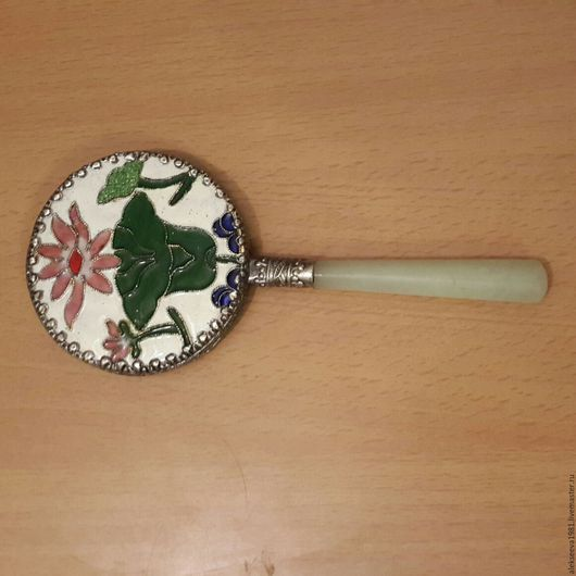 Зеркала ручной работы. Ярмарка Мастеров - ручная работа. Купить Зеркало с ручкой. Handmade. Зеркало с ручкой