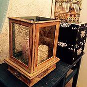 """Для дома и интерьера ручной работы. Ярмарка Мастеров - ручная работа Подсвечник """"Beige"""" средний. Handmade."""
