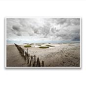 """Картины и панно ручной работы. Ярмарка Мастеров - ручная работа Фотография на холсте - """"Северное море. Германия"""". Handmade."""