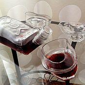 Посуда ручной работы. Ярмарка Мастеров - ручная работа Гнутые стаканы, набор 6 шт.. Handmade.