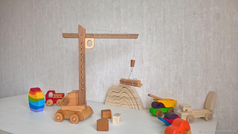 Подъемный кран, Игрушки, Самара, Фото №1